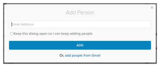 how to add someone to gmail contact list